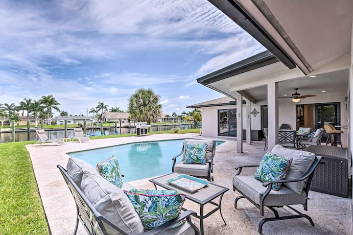 Canalfront Cape Coral Home w/ Private Dock!