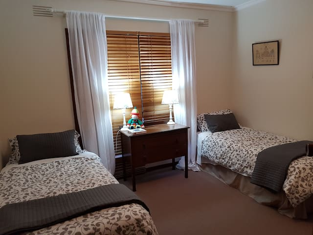 Twin bed room - 2 guests
