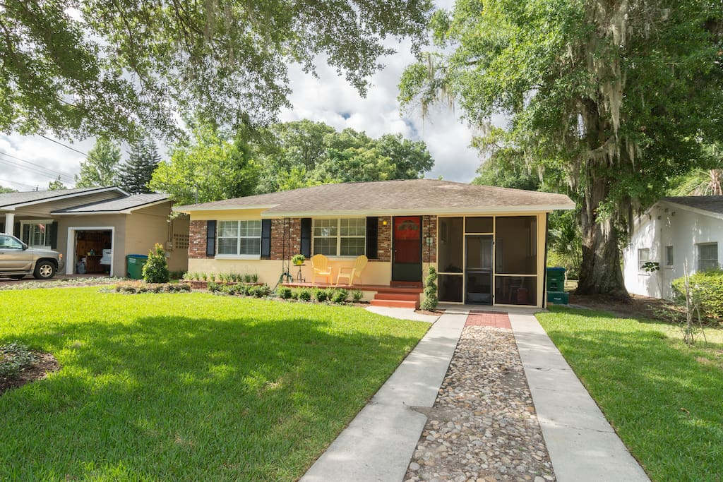 Mid Century Modern Bungalow In Olde Winter Park Houses