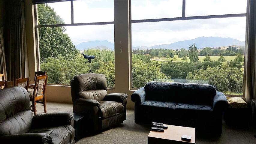 Living room view towards Millbrook.
