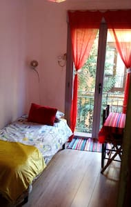 Habitacion individual con balcòn, en el CENTRO! - Madrid