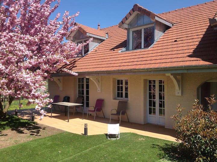 Maison 150 m2 calme, campagne, familiale