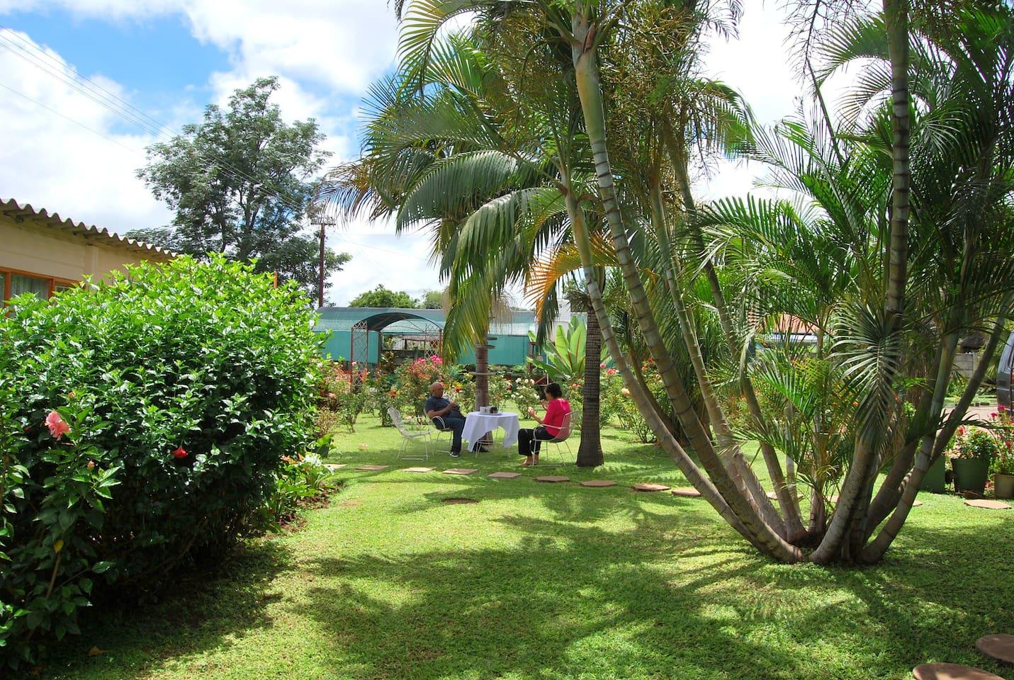 ursula u0027s rose garden cottage chalets for rent in bulawayo