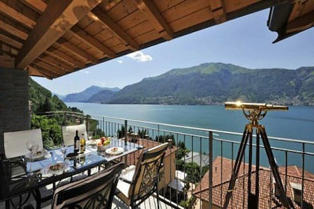 Penthouse with Superb Lake Views - Dorio - Wohnung
