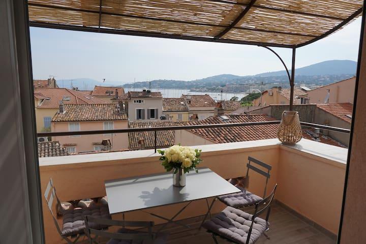 Appartement vue mer plein de charme - Sainte-Maxime - Lägenhet