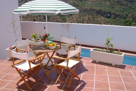 House on small complex with pool - Albuñuelas - Talo