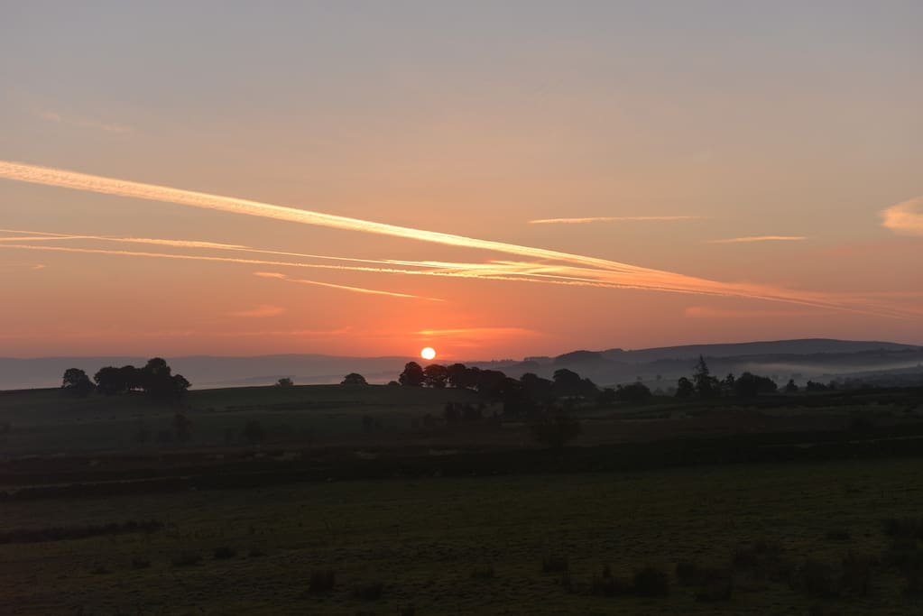 Dawn from the front of Low Todrigg