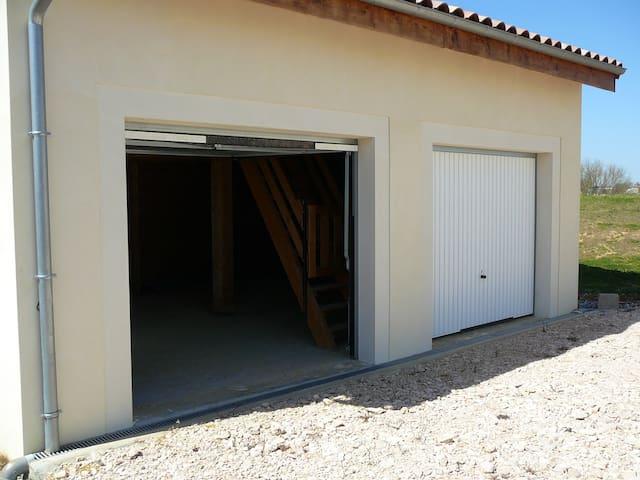 gers maison gite avec  cabane spa jacuzzi - saint martin gimois - Huis