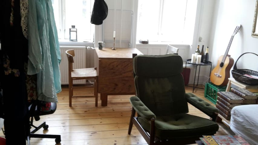 Cozy studio in a beautiful location - København - Apartment