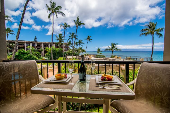 Monkey's Pad oceanfront condo in West Maui