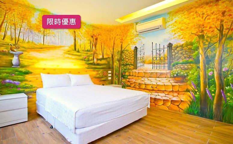 Pingtong Xinyuan 006︱Quadruple Room︱Free Parking