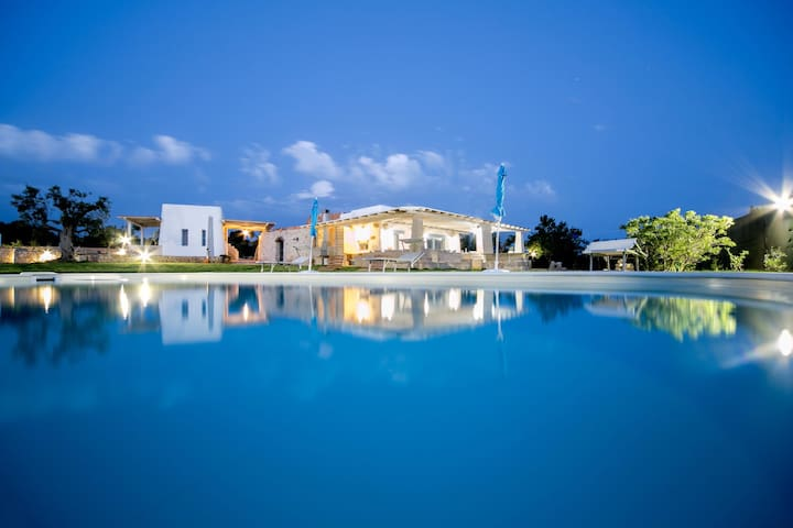 Villa with pool at Suda Torre - Racale - Ev
