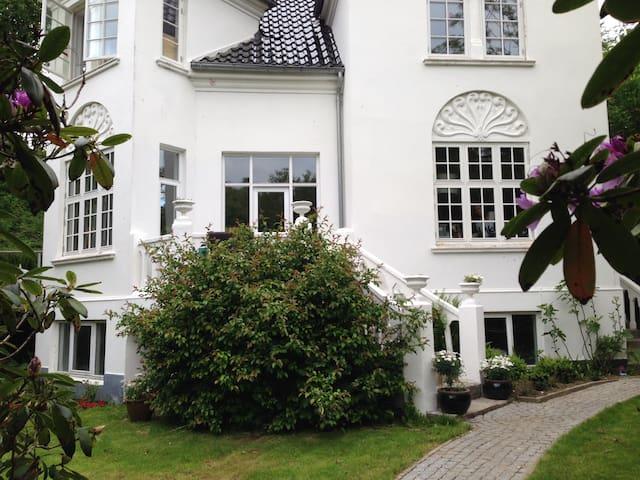 Patriciavilla i Hans Broghes Bakker