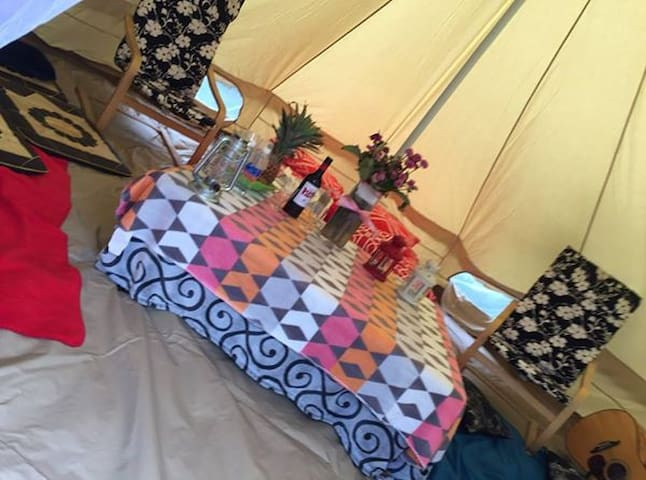 Charming Accommodation TiPi G`Tents - North St Marys