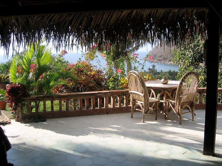 Casa Arriba overlooking Yelapa Bay
