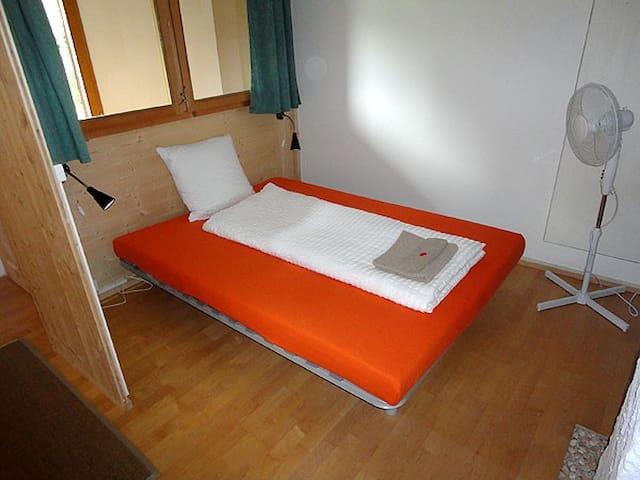 Vestibule with comfortable sofa bed. 140x200cm