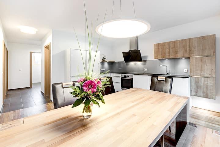 Gartenappartement de Luxe