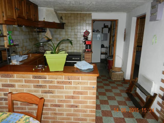 Appartement F2 de plain pied indépendant - Bellecombe-en-Bauges - Apartment