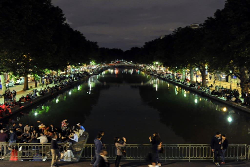 Les soirées d'été au Canal Saint-Martin, rdv incontournable