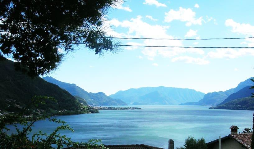casa vista splendida - Colico località Olgiasca - Rumah