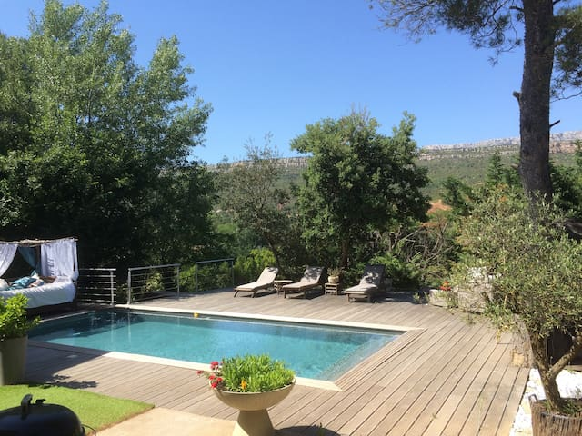 Apartment / pool near Aix-Provence - Châteauneuf-le-Rouge - Daire