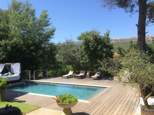 Apartment / pool near Aix-Provence - Châteauneuf-le-Rouge - Apartemen