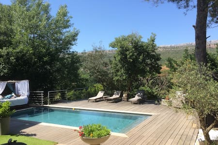 Apartment / pool near Aix-Provence - Châteauneuf-le-Rouge - Huoneisto
