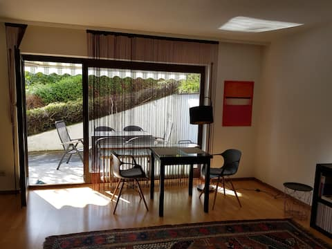Well-being apartment near Basel with sun terrace