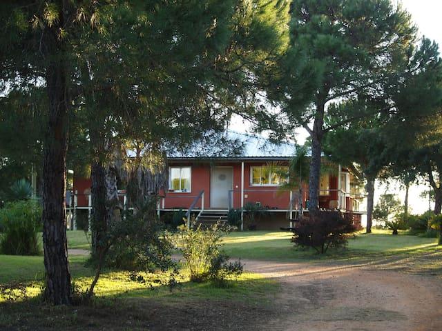 Casa de campo estilo colonial