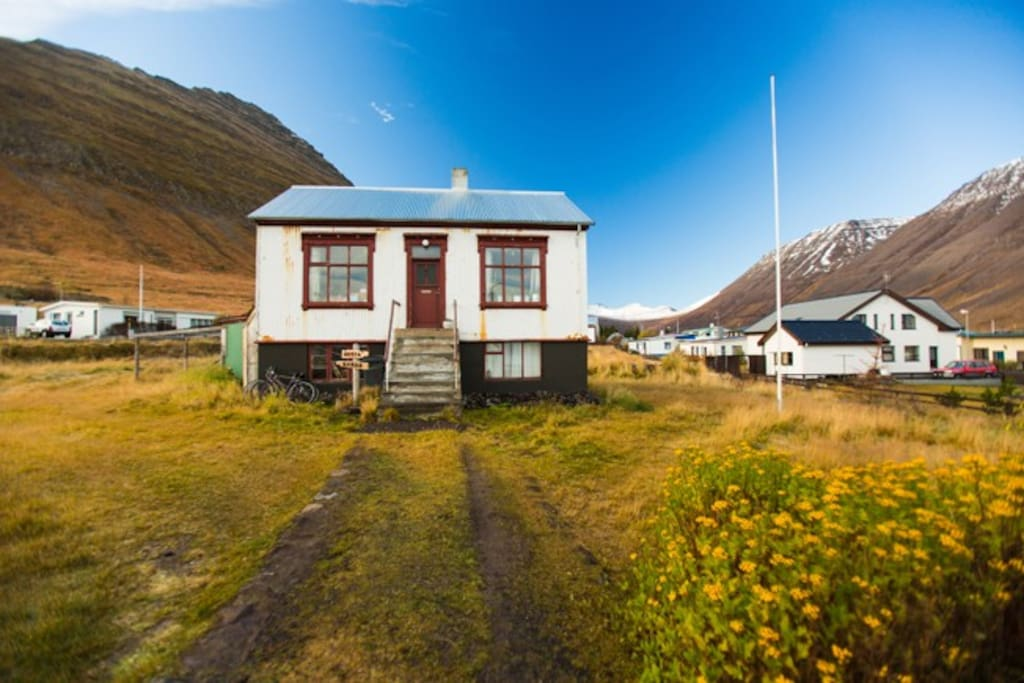 The house from the front, mid June. Photo: Wyatt Roy