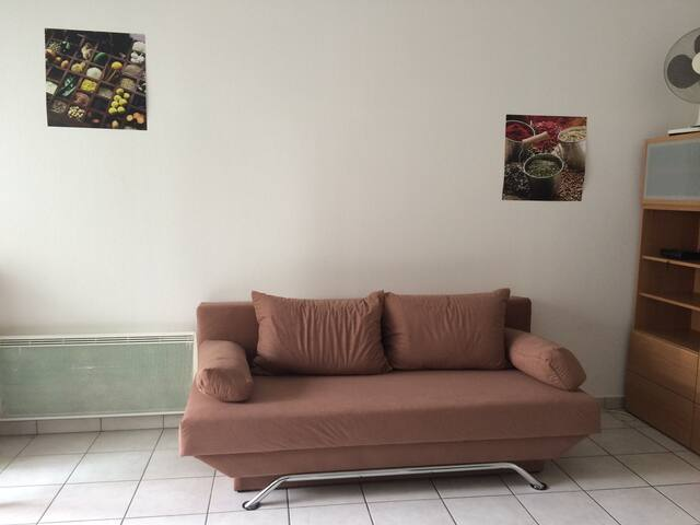 Furnished studio Avignon Agroparc