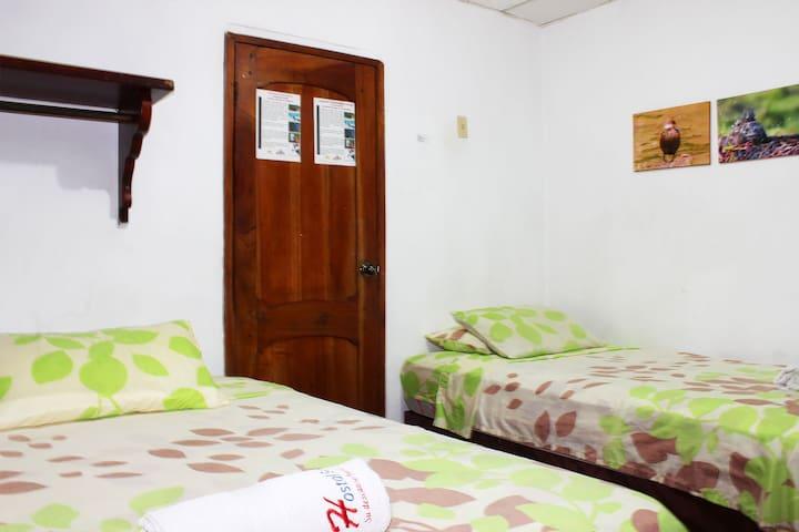 Habitación Doble ♡EN EL CENTRO DE LA CIUDAD♡