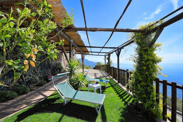 La casa del '600 Holiday House Amalfi Coast - Tovere (San Pietro) - Dom