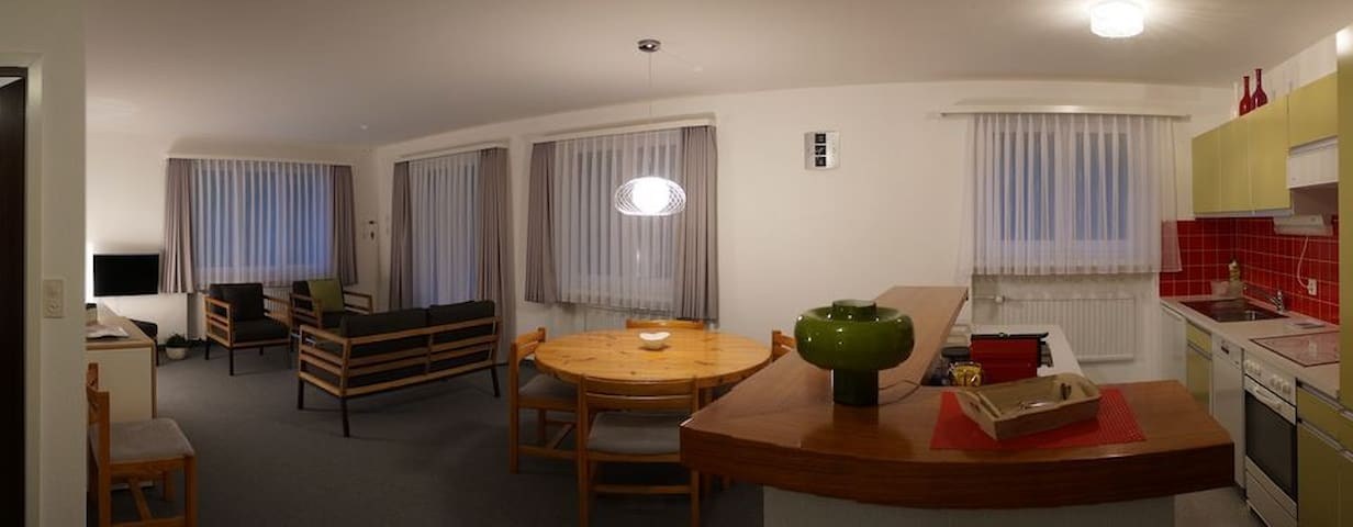 3.5-Z.-Wohnung Gamperdon im Zentrum - Flumserberg Tannenboden - Apartment