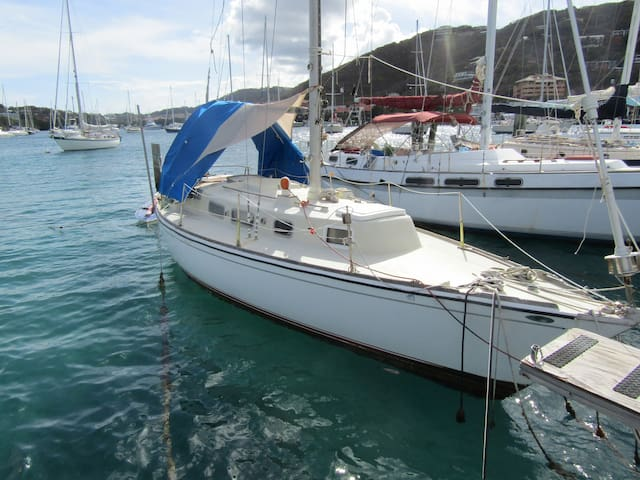 Stay on a 30' Sailboat in Paradise! - St. Thomas US  Virgin Islands - 船