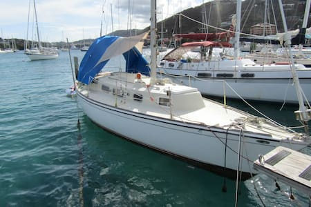 Stay on a 30' Sailboat in Paradise! - St. Thomas US  Virgin Islands - Bot