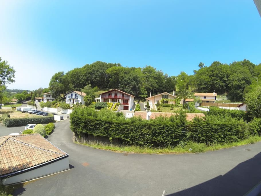 Quartier(vue terrasse)