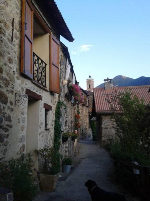Village de la Roche Valdeblore