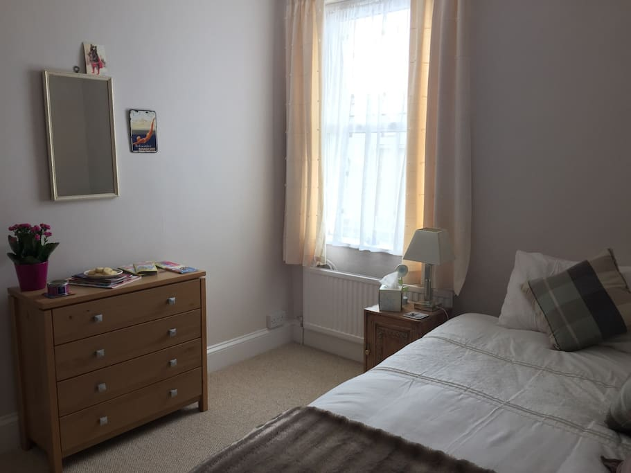 The light and spacious spare room