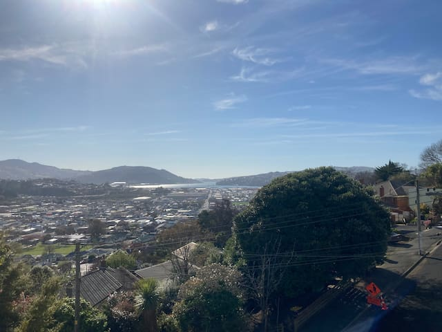 Sunny spot with a view - Close to Dunedin CBD