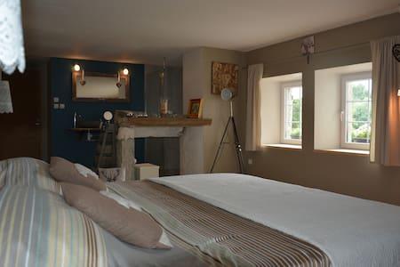Chambre charmante sur EuroVélo6 - Salans - Hus