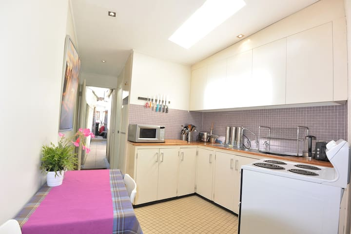 Large Kitchen area with full Cooking Facilities