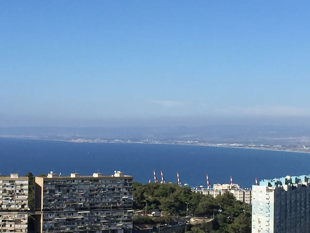 Top of the world with swiming pool - Haifa - Appartement