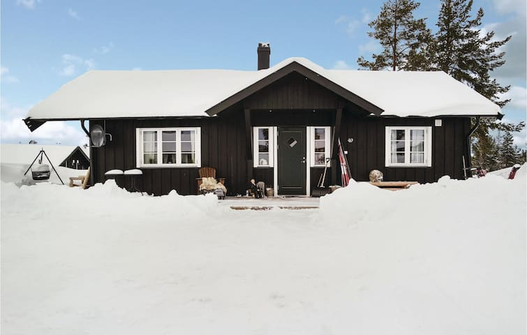 Holiday cottage with 2 bedrooms on 62m² in Tisleidalen