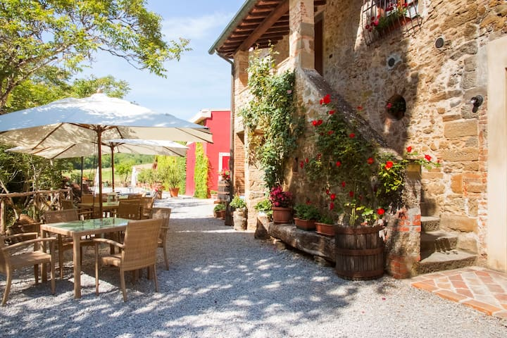 Casa Dalia Tuscan Farmhouse wifi - Bucine - Appartement