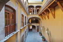 Main XIIITh Century Patio