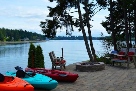 Affordable retreat on the water! - Longbranch - Hus