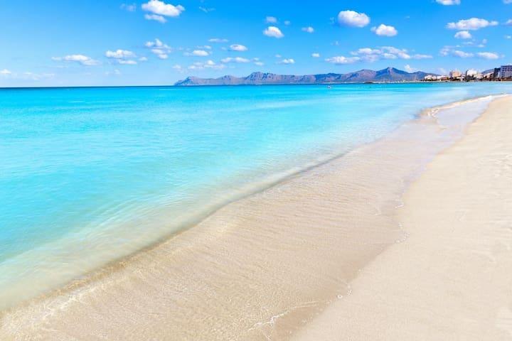 Living on the beach! - Alcúdia - Byt