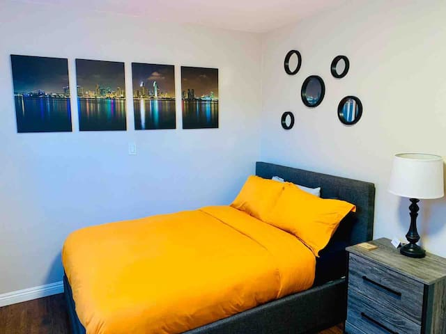 Modern comfort private suite centrally located