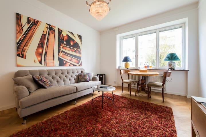 Modern flat in central Stockholm - Stockholm - Lejlighed